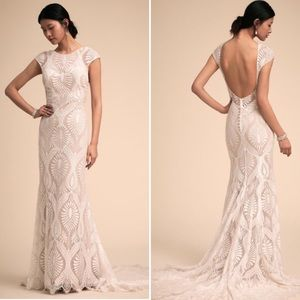 BHLDN Ludlow Wedding Gown